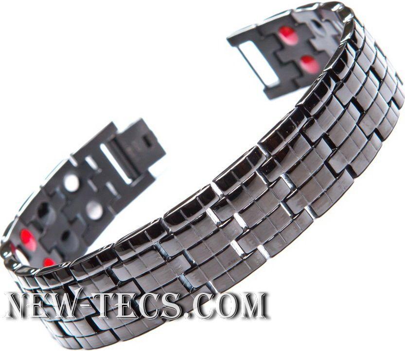 Магнитный браслет TY-002NT-Mj-steel