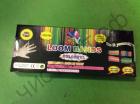 Набор для плетения Loom Bands (Лум Бэндс) DIY 600 шт. резинок ,крючок, 14 клипс ,большой станок для плетения , инструкция (5)