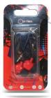 Наушники OXION EPO101 красные (вакуум, 20-20kHz, 102±3dB, 32 Ом, шнур 1,2м)(EPO101RD)