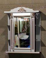 """Зеркальный шкаф для ванной """"Руссильон PROVENCE-75R светлое дерево"""" (правое открывание)"""
