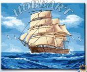 """Картина по номерам """"На всех парусах"""""""