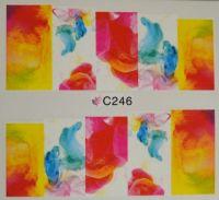 Водная наклейка для дизайна ногтей С 246