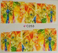 Водная наклейка для дизайна ногтей С 253