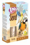 Lolo Pets Песок для птиц лимонный (1,5 кг)