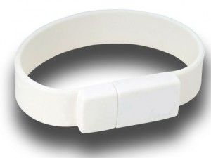 4GB USB-флэш накопитель Apexto U601A браслет белый
