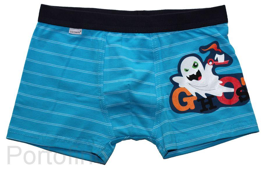 Трусы детские для мальчиков Cornette Ghost (приведение)