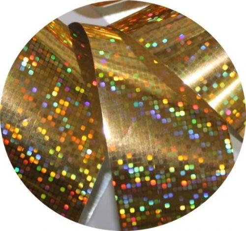 Фольга для литья и кракелюра Royal золото голографическая мозаика