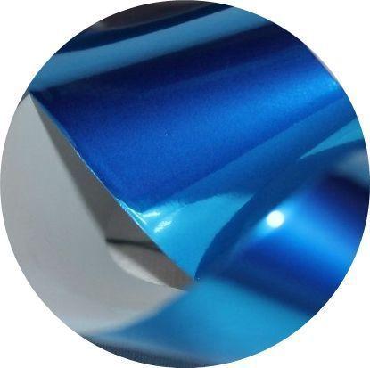Фольга для литья и кракелюра Royal (07) синий глянец