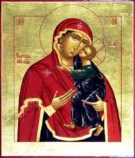 Толгская икона БМ (рукописная икона)