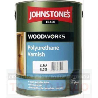 Лак мебельный JOHNSTONE`S PolyurethaneVarnish 0,75 л глянцевый