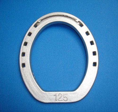 """Подкова алюминиевая DELTACAST """"Ring"""". С усиленной зацепной частью."""