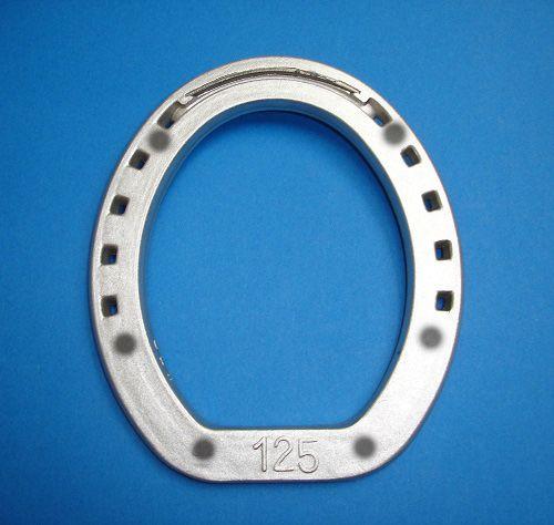 """Подкова алюминиевая DELTACAST """"Ring"""", под 6 шипов.С усиленной зацепной частью."""