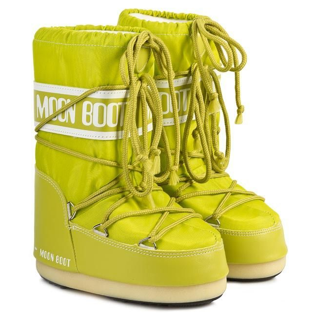 Moon Boot Nylon Lime / 23-26, 27-30, 31-34.