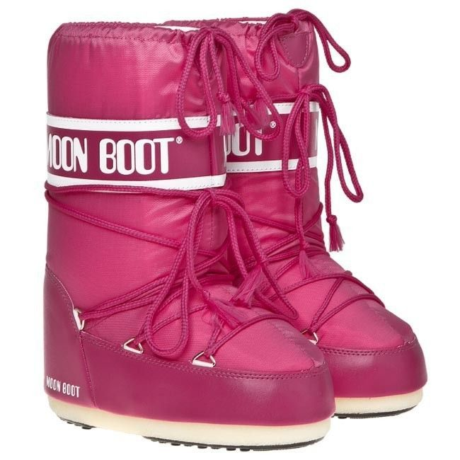 Moon Boot Nylon Bouganville / 23-26, 27-30, 31-34.