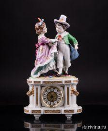 Танцующие дети, часы, Rudolstadt, Германия, 19 в