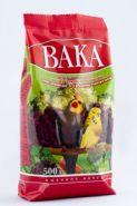 """Вака """"ВК"""" Корм для мелких и средних попугаев с минералами и овощами (500 г)"""