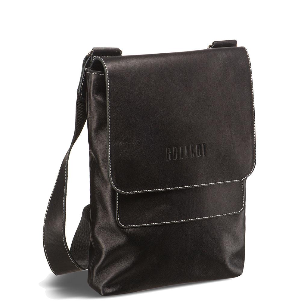 6d94d444ddf2 Кожаная сумка через плечо BRIALDI Pigna (Пинья) black
