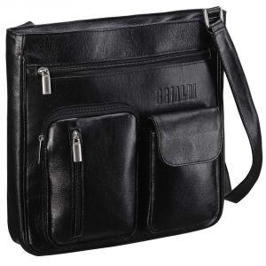 Кожаная сумка через плечо BRIALDI Chester (Честер) black