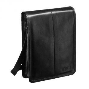 Кожаная сумка через плечо BRIALDI Boston (Бостон) black