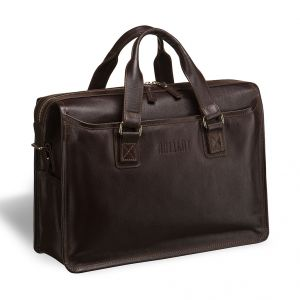 Деловая сумка для документов Nelson (Нельсон) brown