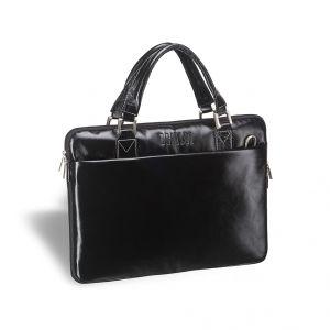 Деловая сумка SLIM-формата BRIALDI Ostin (Остин) shiny black