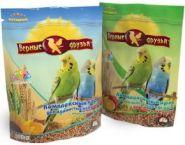 Верные друзья Корм для волнистых попугаев с морской капустой (500 г)