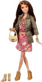 Кукла Тереза Pink Dress and Jacket, серия Уличный стиль, BARBIE