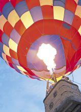 Почтовая открытка Воздушный шар