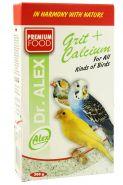 DR. ALEX Гравий для всех видов птиц с кальцием (300 г)