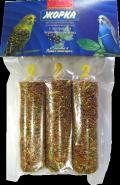 Жорка Медовые батончики для волнистых попугаев с экстрактом черной смородины (3 шт.)