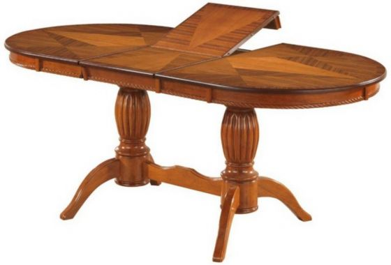 Овальный раскладной стол. 3688М