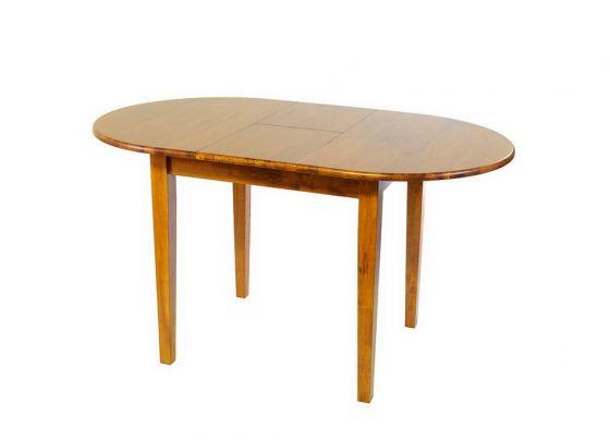 Стол деревянный обеденный овальный раскладной 3662