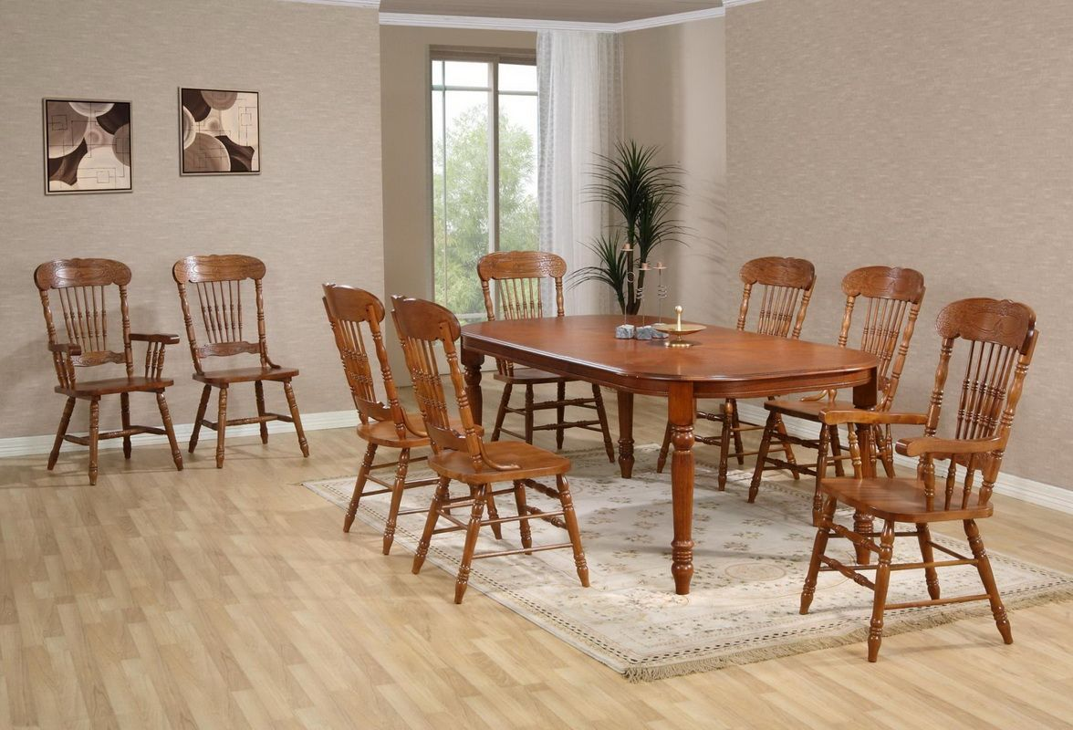 Стол деревянный обеденный раскладной Кантри 3643