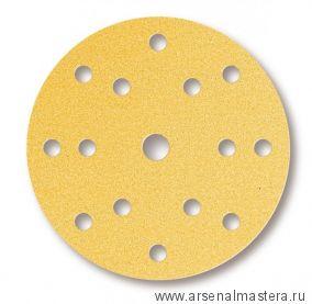 Шлифовальный круг на поролоновой основе Mirka GOLD SOFT  150мм 15 отверстий Р 500 в комплекте 20 шт