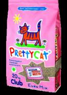 Pretty Cat Euro Mix Комкующийся глиняный наполнитель (20 кг)
