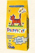 """Pretty Cat """"Супер Белый"""" Комкующийся наполнитель с ароматом ванили (10 кг)"""