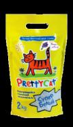 """Pretty Cat """"Супер Белый"""" Комкующийся наполнитель с ароматом горной лаванды (2 кг)"""