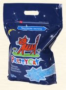 Pretty Cat Кристаллы чистоты Впитывающий силикагелевый наполнитель (1,9 кг)