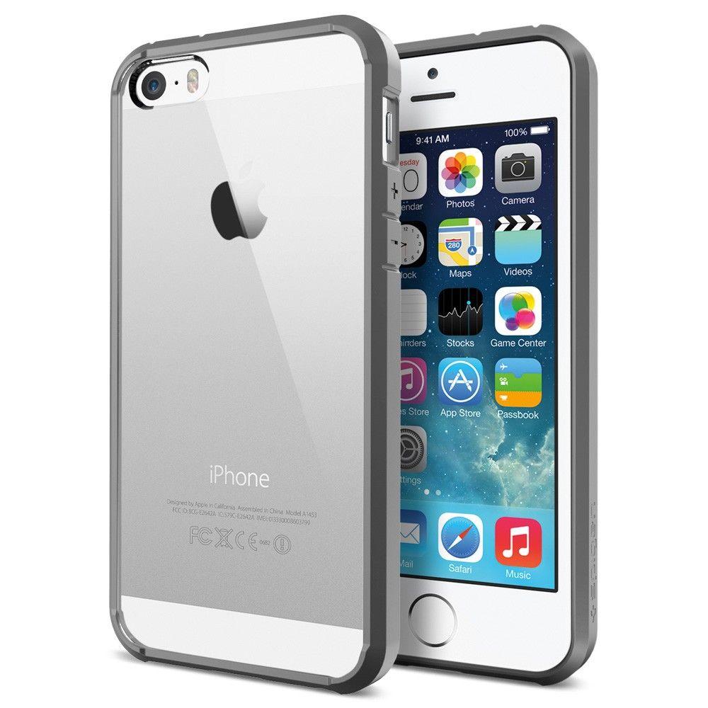 SGP Spigen Slim Ultra Hybrid для iphone 5/5s (белый)