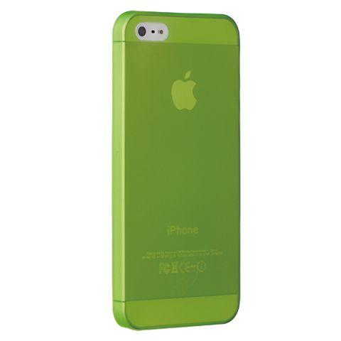Ультра тонкий чехол 0.3мм для iphone 5/5s зеленый