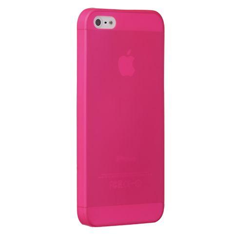 Ультра тонкий чехол 0.3мм для iphone 5/5s розовый