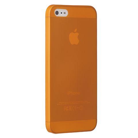 Ультра тонкий чехол 0.3мм для iphone 5/5s оранжевый