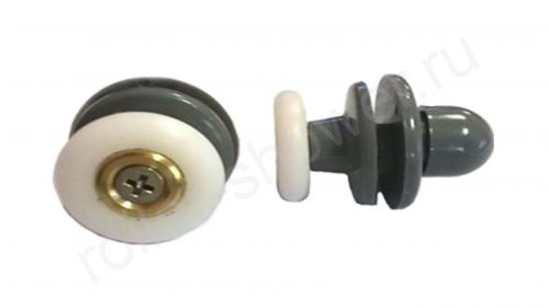 Ролик  VH045 (комплект 8шт) Для кабин Golf (Гольф), Potter (Поттер), quapolo (Акваполо) Диаметр колеса (от 18,6 до 28мм)