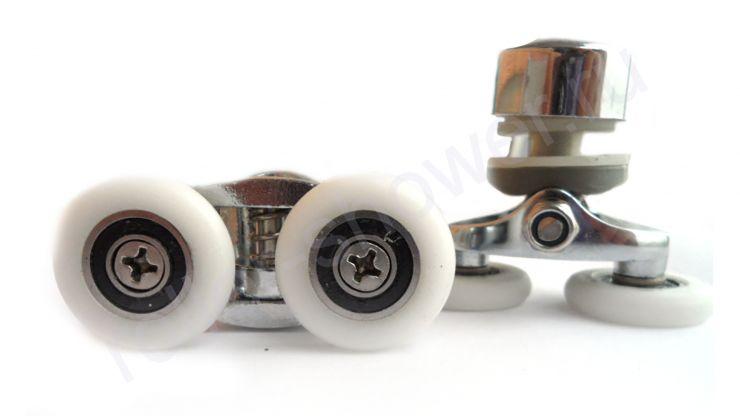 Ролик для душевой кабины VH005 (комплект 8шт) Диаметр колеса (от 18,6 до 28мм)