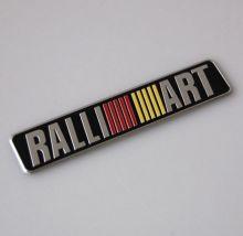 Эмблема RalliArt, наклейка 12х2.4см
