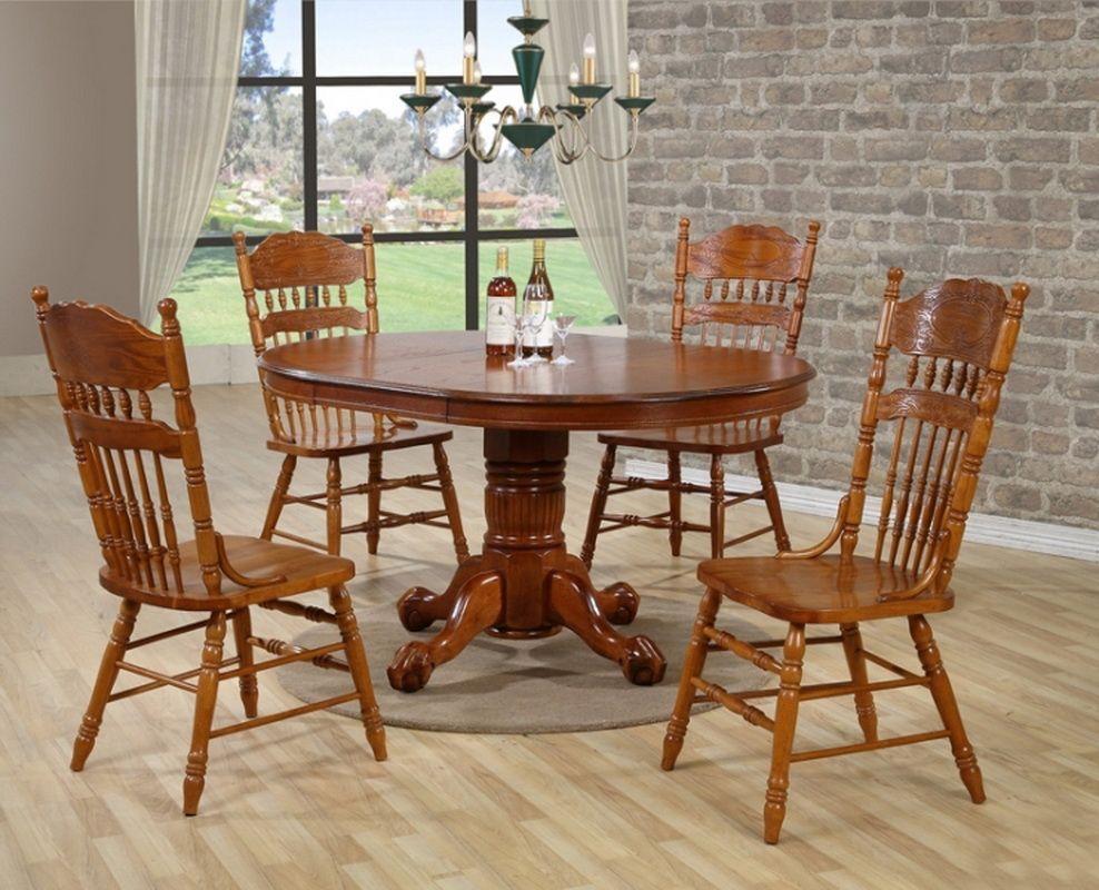 Стол деревянный обеденный раскладной Кантри 3639
