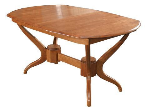 Стол обеденный овальный раскладной 3602