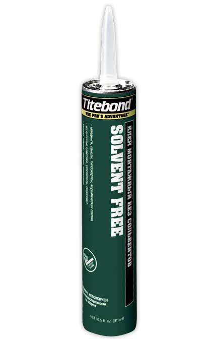 TITEBOND SOLVENT FREE - Экологичный