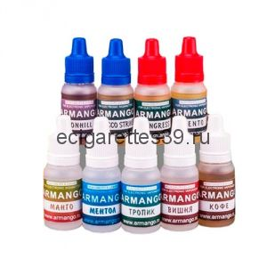 Жидкость Armango содержание никотина 6 мг.