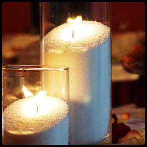 Насыпные свечи